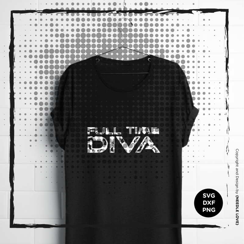 Plotterdatei FULL TIME DIVA No.2
