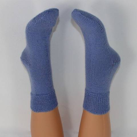 Ladies Simple Socks Circular