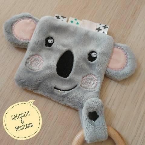 ITH Doudou plat koala - Fichier de broderie