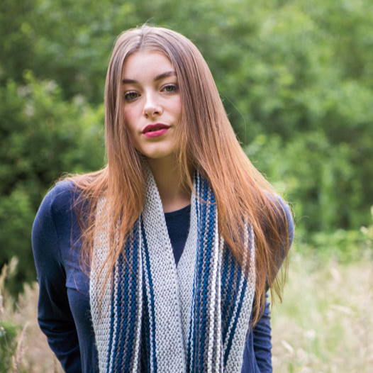 Solace cowl - hand knitting pattern