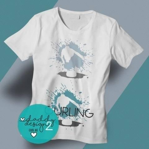 Shadow Splash - CURLING -  2 coole Curling Motive
