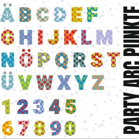 PUNKTE ABC mit A bis Z und 1 - 10