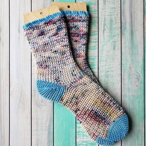 Bahzeek crochet socks