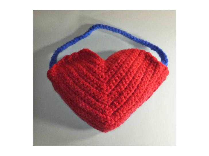 Geschenktasche Herz zu Valentinstag bei Makerist - Bild 1