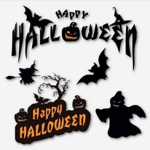 Happy Halloween Set 2 - Cutting Files