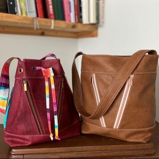 Bucket Bag Sewing Pattern & Video Tutorial at Makerist - Image 1