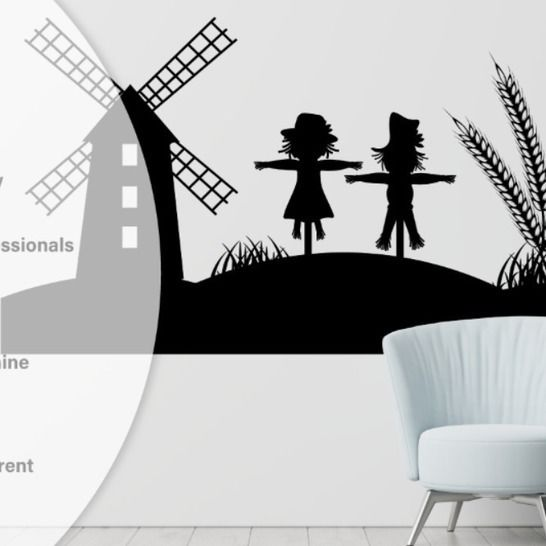 Happy Autumn - Wall Decal - Cutting Files at Makerist - Image 1