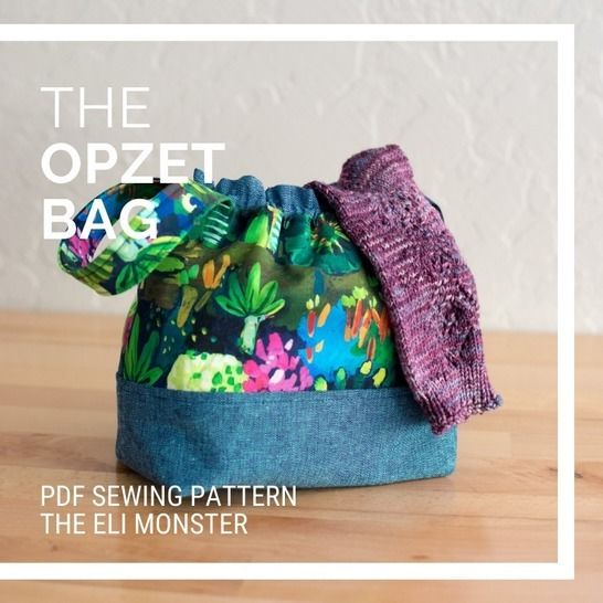 Bag Sewing Pattern, The Opzet Bag at Makerist - Image 1