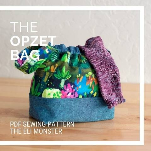 Bag Sewing Pattern, The Opzet Bag