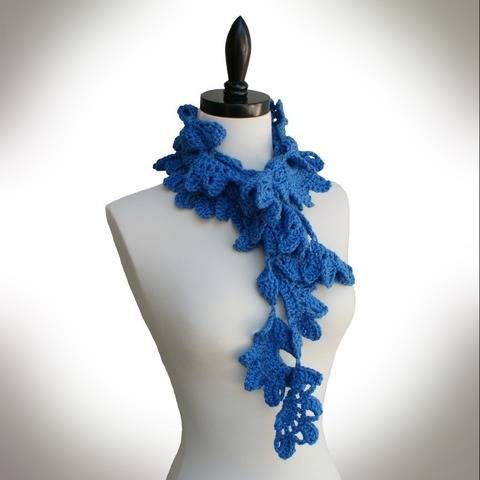Glen Oaks Lace Scarf Crochet Pattern