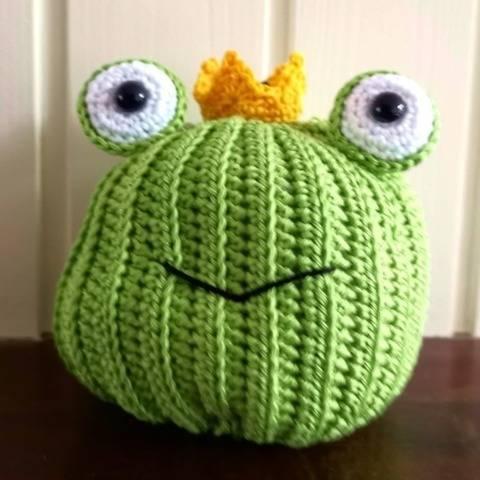 Pumpkin Pals Frog
