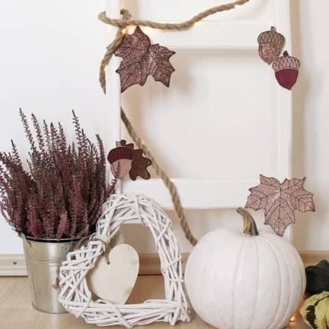 ITH-Stickdatei Herbstzauber - Herbstlaub