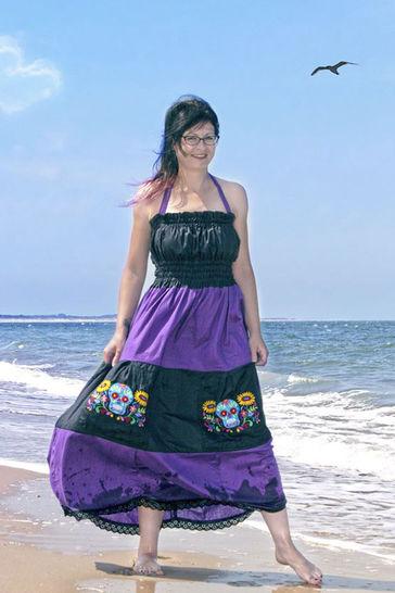 70s Kleid Ivy für Damen Nähanleitung - eBook bei Makerist - Bild 1