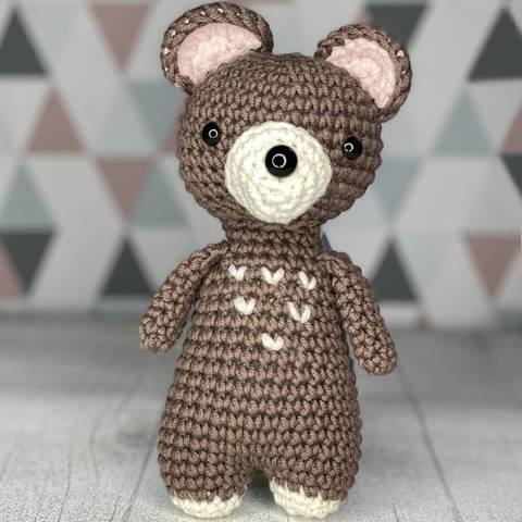 Amigurumi - Marcel baby bear, crochet pattern at Makerist