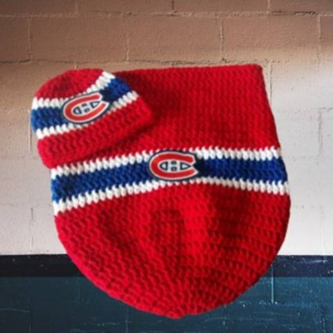Montreal Canadians Cocoon and hat