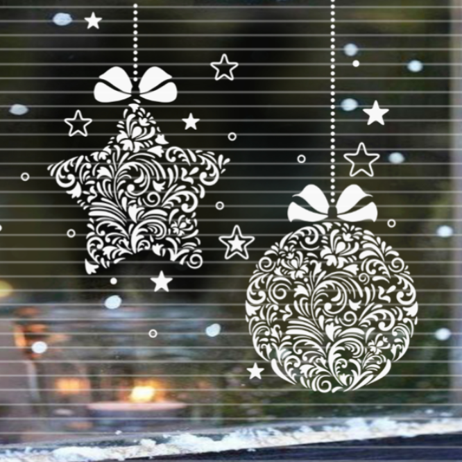"""Cutting file """"Christmas deco""""  SVG DXF"""