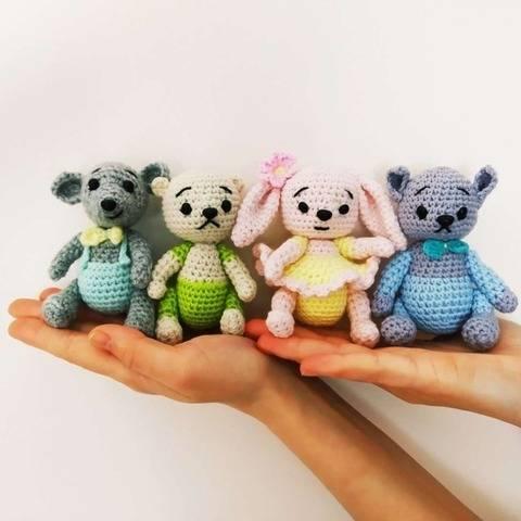 Small amigurumi toys patterns