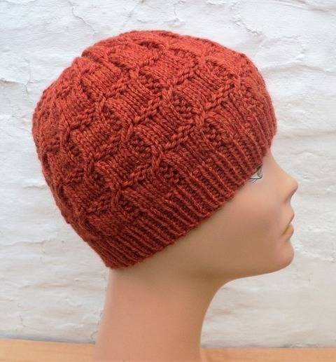 Bonnet Orme - explications tricot chez Makerist