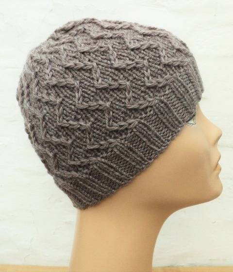 Bonnet Zig Zag - explications tricot chez Makerist