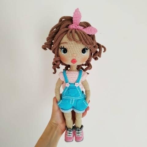 Astrid Crochet doll pattern