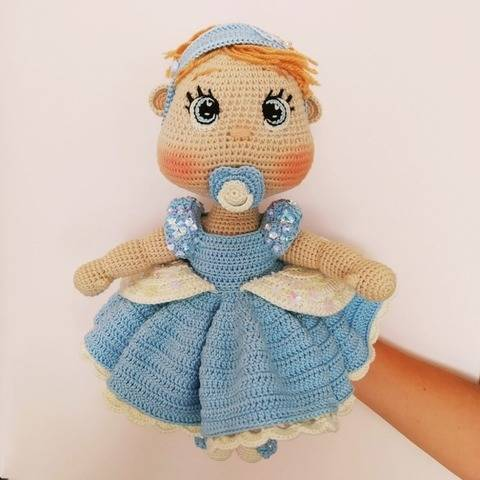 Crochet Princess Cinderella pattern