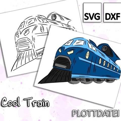 Cool Train - Plottdatei