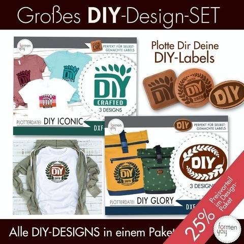 Großes Plot-Set DIY Glory + ICONIC - formenfroh