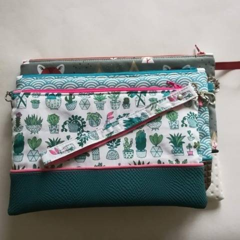 "Pochette ""Louisa"" chez Makerist"