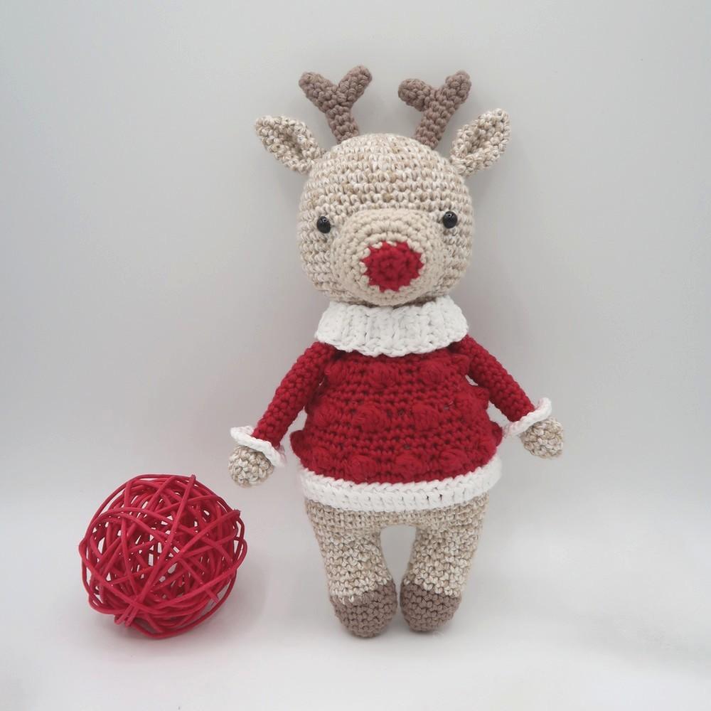 Ewen, le renne • Amigurumi au crochet