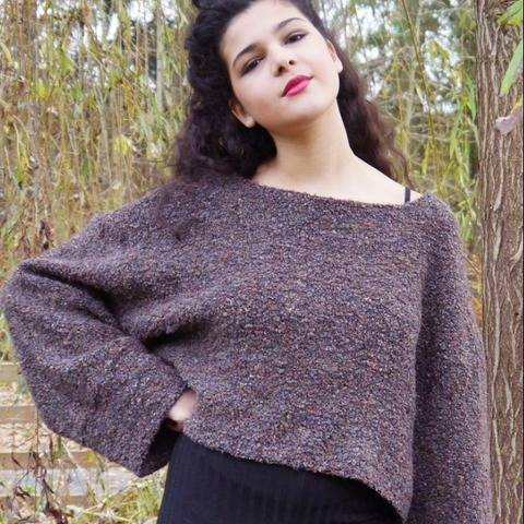 PDF pattern E-Book Sweater Sarah with instructions