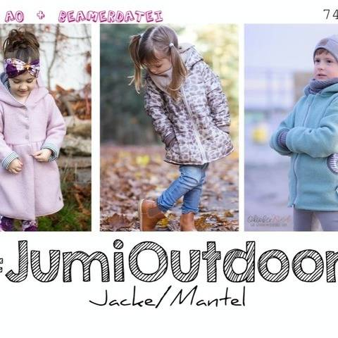 Jumi Outdoor Jacke A0+A4+Beamer ♥  74 - 164 Mantel