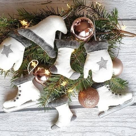 ITH-Stickdatei Weihnachtsanhänger zum Wenden