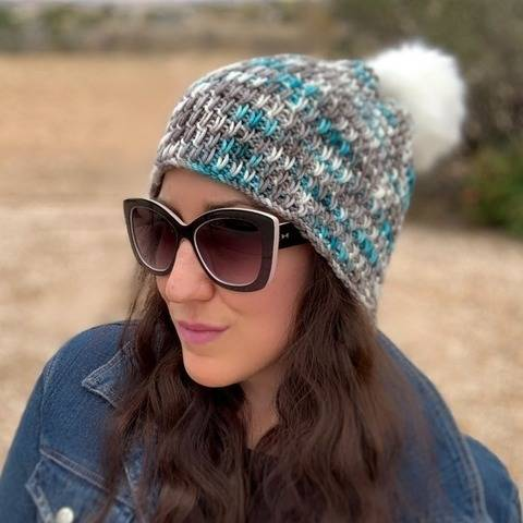 Winter Chill Knit Beanie Pattern