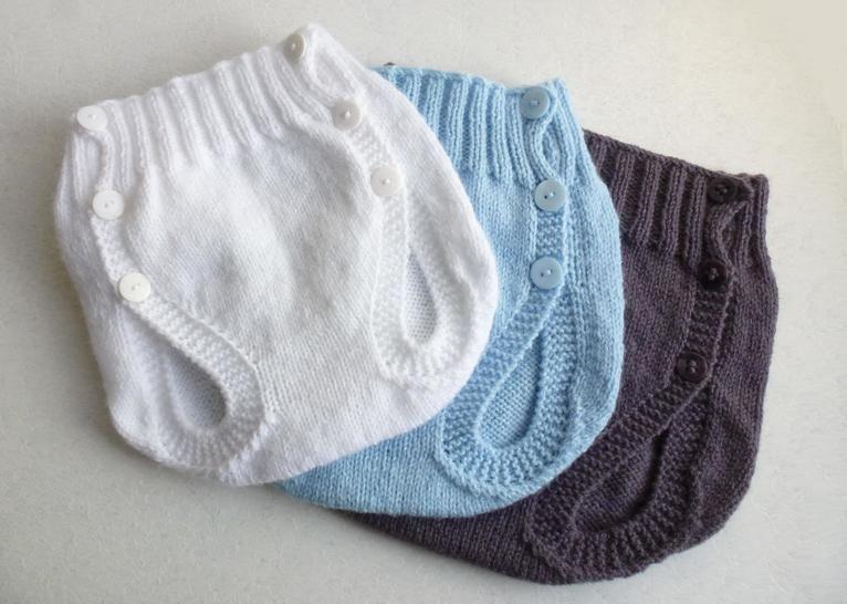 Culotte couvre couche, T1/3/6 mois - Tutoriel de tricot. chez Makerist - Image 1