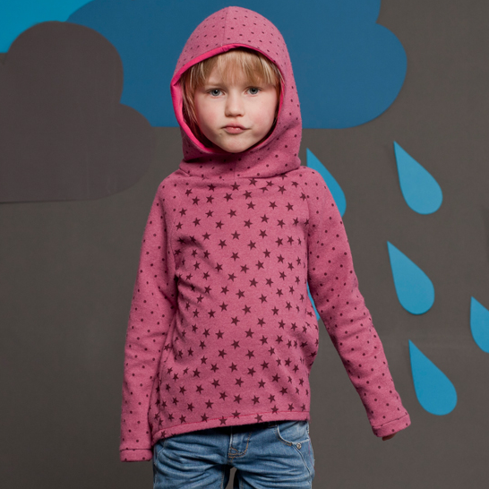 TONI - Sweat à capuche enfant 86-152cm