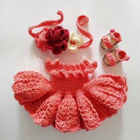Crochet outfit for Astrid doll