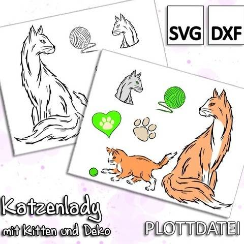 Katzenlady - Plottdatei