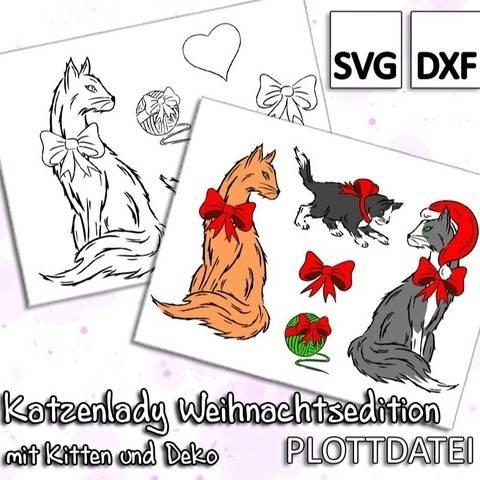Katzenlady Weihnachtsedition - Plottdatei
