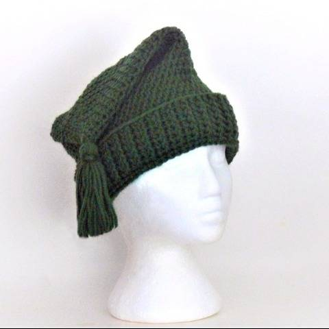French Canadian Toque - Stocking Cap - Winter Hat # 324