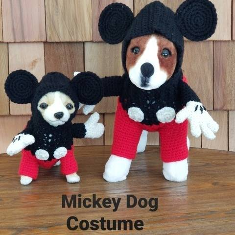 Mickey Dog Sweater