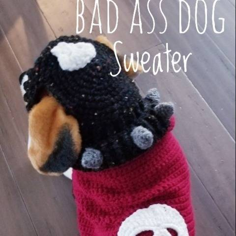 Bad Ass Dog Sweater