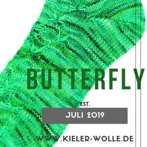 """Socken """"Butterfly"""""""