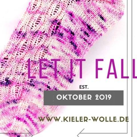 "Socken ""Let it fall"""