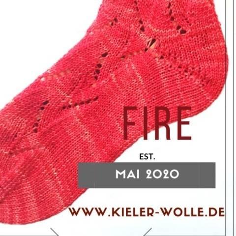 """Socken """"Fire"""""""