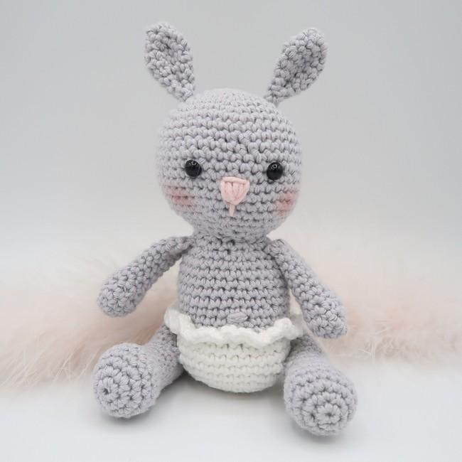 Câlinou, le lapinou • Amigurumi au crochet