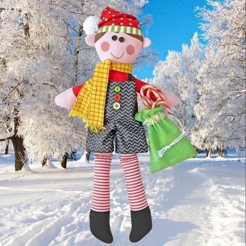 Kristy the Christmas Elf Doll Pattern