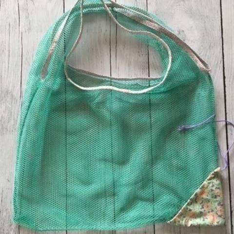 Eco-friendly shopping bag - English pdf pattern