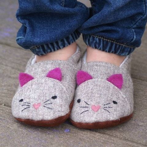 Animal Shoes - PDF Sewing Pattern - Baby, Child, Youth