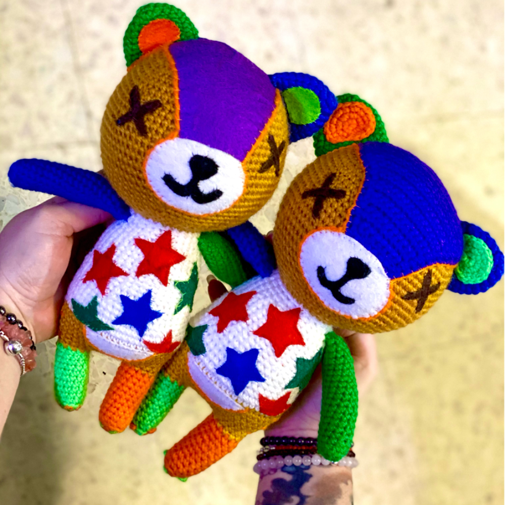 Patron Crochet - Amigurumi Ours Miro Animal Crossing