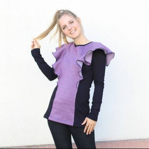 Winter Sweater sewing pattern and instructions by Sewera